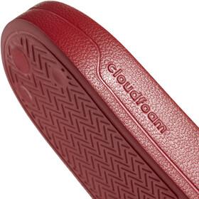 adidas Adilette Shower Sandaalit Miehet, scarlet/footwear white/scarlet